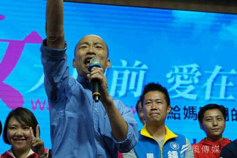 作者稱,韓國瑜的政見「人進來、貨出去」,「學習新加坡」,基本觀念是正確的。唯一的問題是台灣今天本身的體質己經出了大問題。(資料照,新新聞林瑞慶攝)