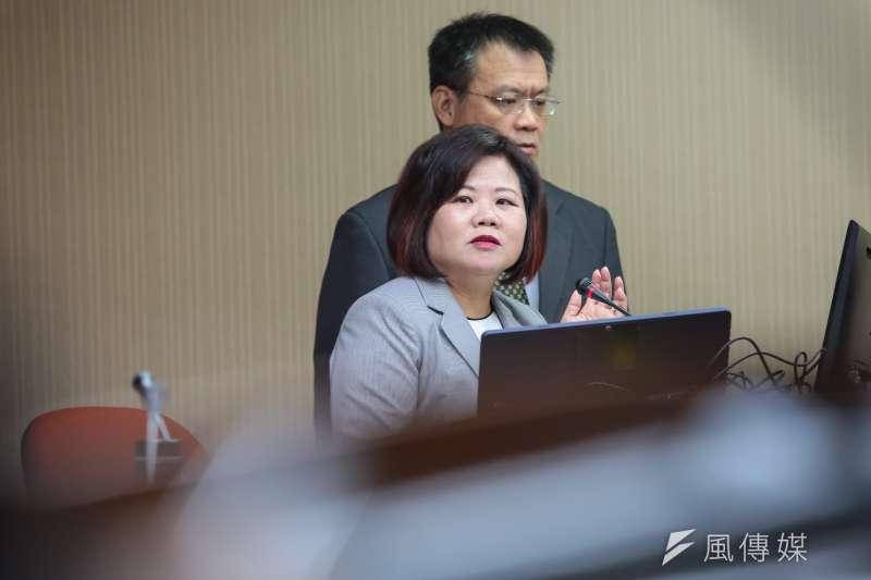 勞動部長許銘春11日於立院衛環委員會上再提「平均薪資達5萬」,引發立委不滿。(顏麟宇攝)