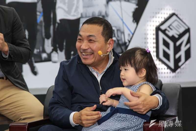 20181012-國民黨新北市長參選人侯友宜12日公布首支個人形象廣告。(顏麟宇攝)