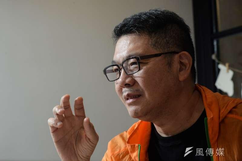20181012-黑貓中隊專訪,導演楊佈新。(甘岱民攝)