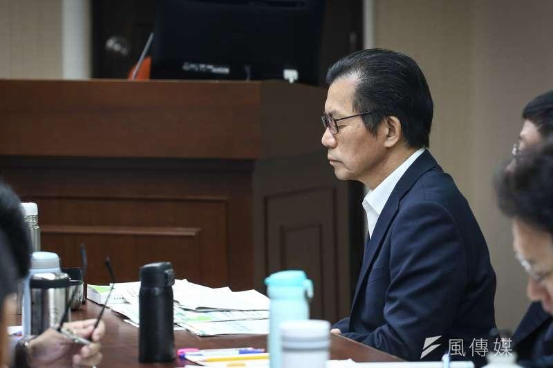 20181015-立法院社會福利及衛生環境委員會,圖為環保署長李應元。(陳品佑攝)