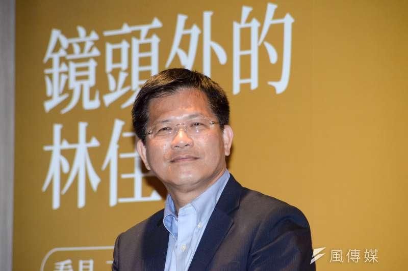 台中市長林佳龍表示,近3年招商榮登全台第一,不管北漂南漂都希望漂到台中來。(資料照,甘岱民攝)