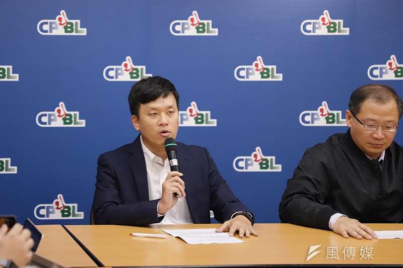 Lamigo桃猿即將轉賣給樂天集團,領隊劉玠廷今日也證實這項消息。(資料照,余柏翰攝)
