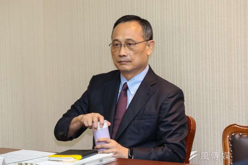 20181017-警政署長陳家欽17日出席內政委員會備詢。(顏麟宇攝)