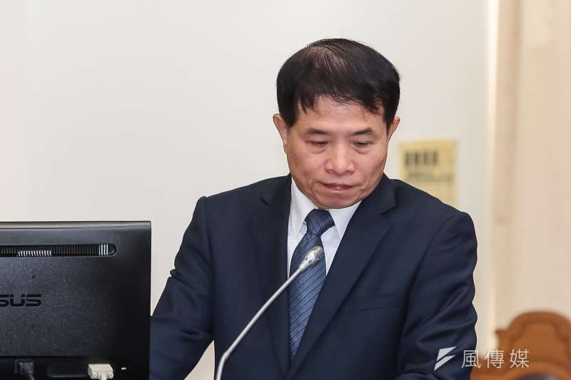 20181018-NCC副主委翁柏宗18日於財政委員會備詢。(顏麟宇攝)