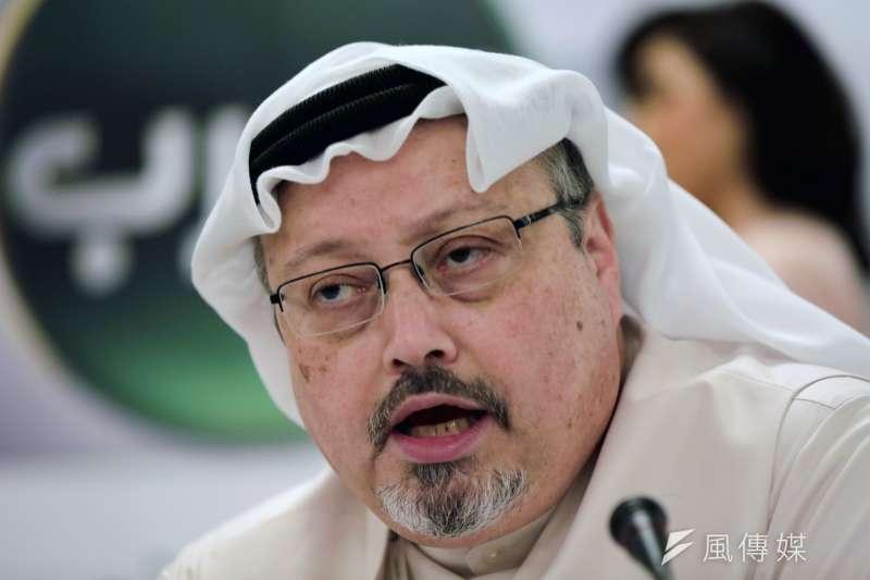 沙烏地阿拉伯著名異議記者、專欄作家哈紹吉(Jamal Khashoggi)(AP)