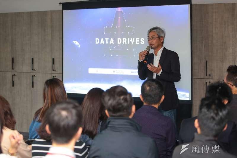 20181019-風傳媒集團創辦人暨董事長張果軍19日出席「DATA DRIVES 汽車產業數據產品發表會」。(顏麟宇攝)