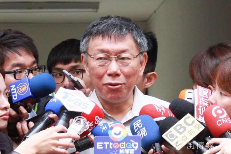 韓國瑜小編王律涵日前嗆綠營名嘴「噁心」,被網友封為「新學姐」,台北市長柯文哲也稱是「英雄出少年」。(資料照,方炳超攝)