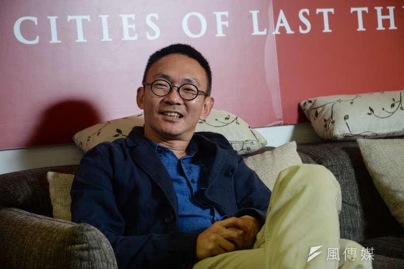 20181019-《幸福城市》導演何蔚庭專訪。(甘岱民攝)