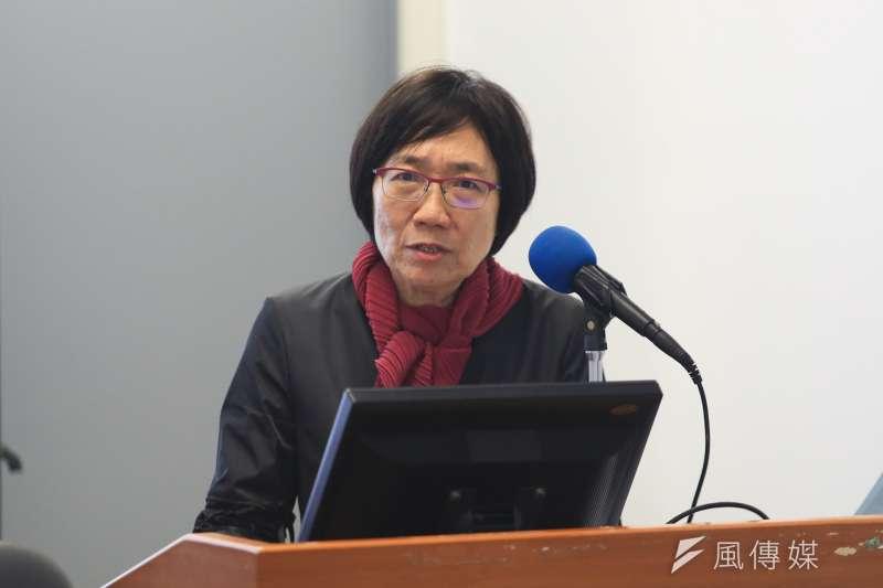20181020-公共事務委員會主任委員陳玲玉女士今(20)日出席「修復式司法」座談會。(簡必丞攝)