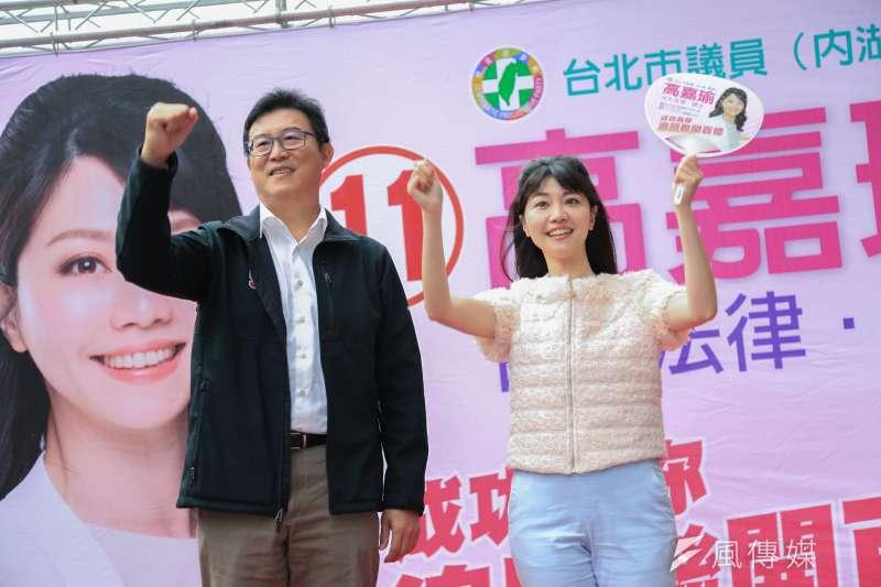 Google今公布台灣「2018年快速竄升政治人物」,姚文智(左)排行第7,輸給第5的高嘉瑜(右)。(資料照,簡必丞攝)