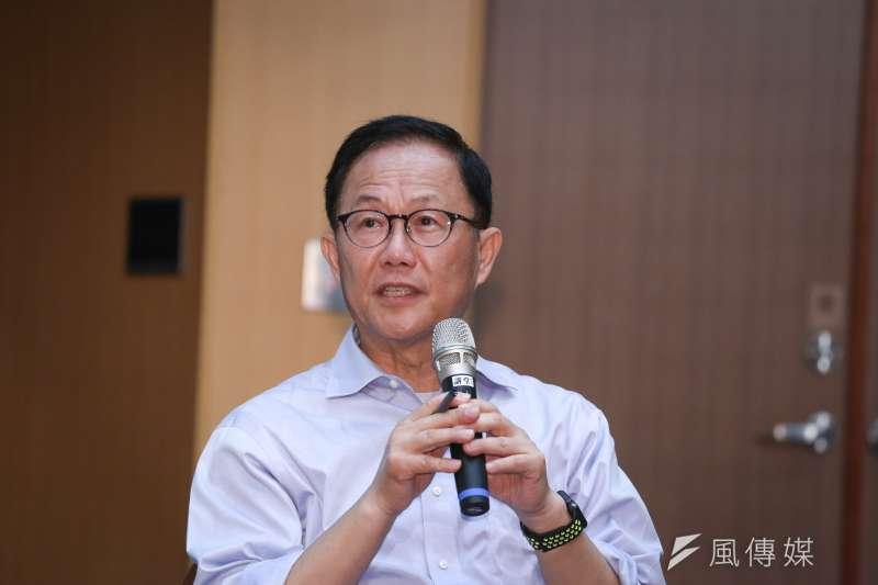 國民黨台北市長候選人丁守中1日表示,校園毒品問題越來越嚴重,他當選市長後,將把學校健康檢查,全面納入驗尿篩檢毒品。(資料照,陳品佑攝)