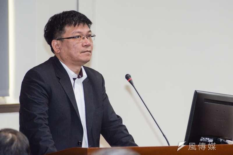 20181022-立法院經濟委員會,經濟部次長曾文生答詢。(甘岱民攝)