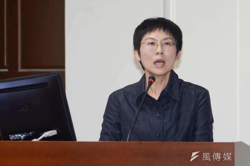 20181022-立法院經濟委員會,立委林岱樺發言。(甘岱民攝)