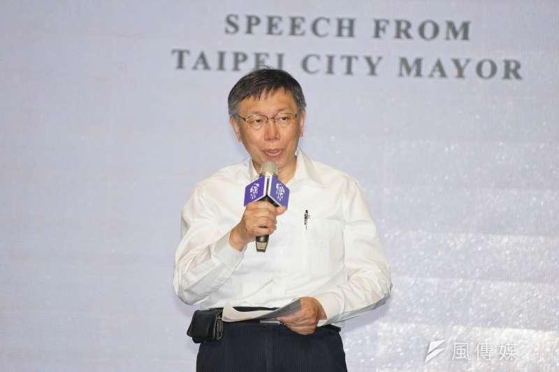 作者聲稱,前總統馬英九是臺灣第一顆「政治泡沫」,而台北市長柯文哲是第二個。(資料照,盧逸峰攝)