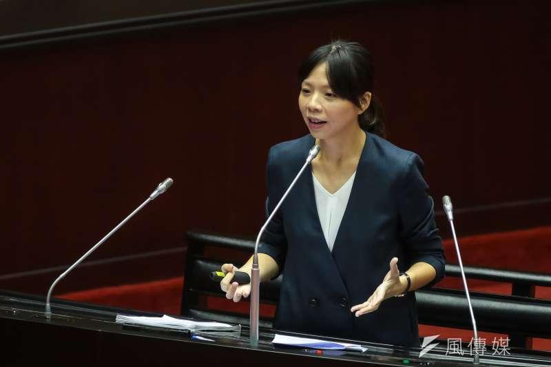 時代力量立委洪慈庸表示,高雄市長韓國瑜似乎不明白,若取消年金改革這兩年就會首當其衝破產。(資料照,顏麟宇攝)
