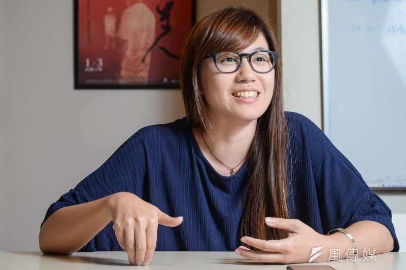 《我們的青春,在台灣》導演傅榆(甘岱民攝)