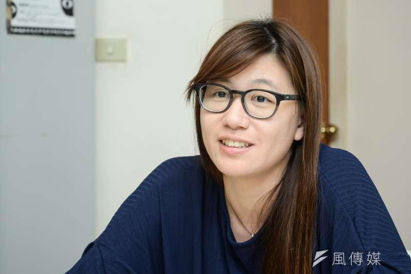 20181022-《我們的青春,在台灣》導演傅榆專訪。(甘岱民攝)