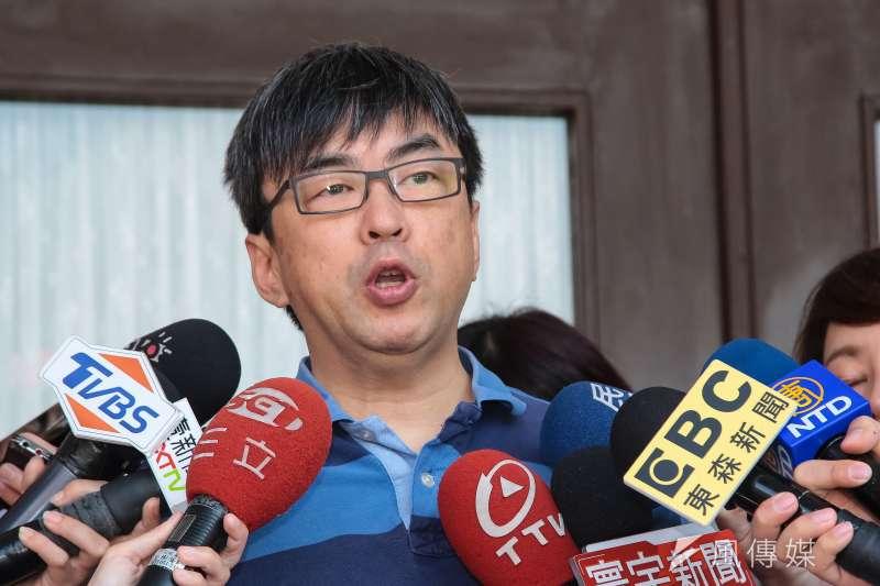 20181026-民進黨立委段宜康26日於立院接受媒體聯訪。(顏麟宇攝)