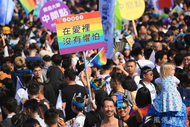 20181027-2018台灣同志大遊行。(簡必丞攝)