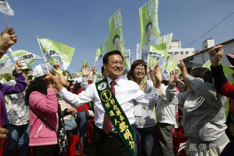 彰化縣長魏明谷擔任縣長的施政表現滿意度,有53.3%的縣民表示滿意,不滿意的縣民佔29.3%。(資料照,新新聞郭晉瑋攝)