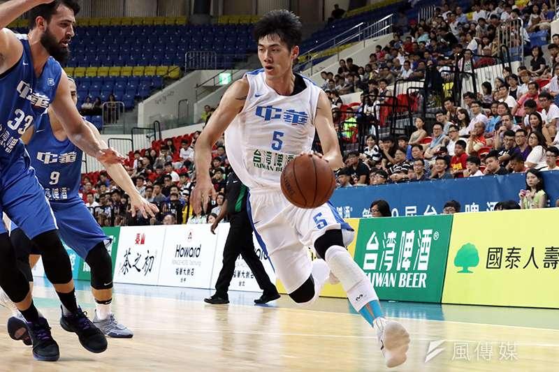 台灣好手挑戰CBA第3輪賽事,這次林志傑以高效率單場拿下12分,也幫助廣廈在開季取得3連勝的好成績。(資料照,余柏翰攝)