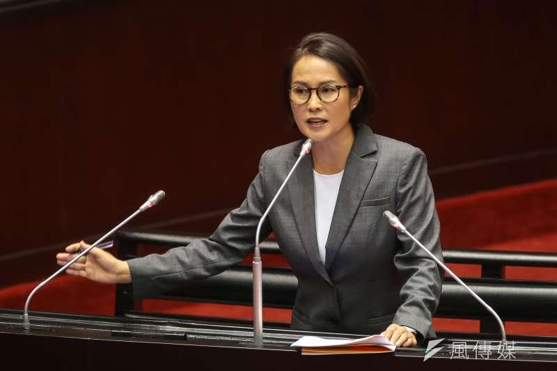 20181030-無黨籍立委高金素梅30日於立院質詢。(顏麟宇攝)