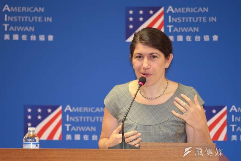美國在台協會(AIT)發言人孟雨荷11日受訪時表示反對台灣獨立公投是美國長期政策,因此無法討論這個公投在台灣體制的合法性。(資料照,顏麟宇攝)