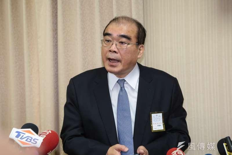內政部長徐國勇表示,邱豐光事績效卓著,深獲各界讚許。(資料照,顏麟宇攝)
