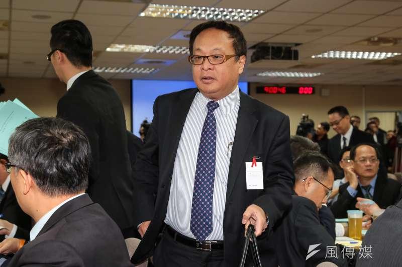 20181101-國安局副局長柯承亨1日出席外交國防委員會備詢。(顏麟宇攝)