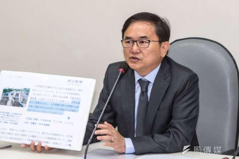 民進黨台東縣長候選人劉櫂豪呼籲對手進行辯論。(資料照片,顏麟宇攝)
