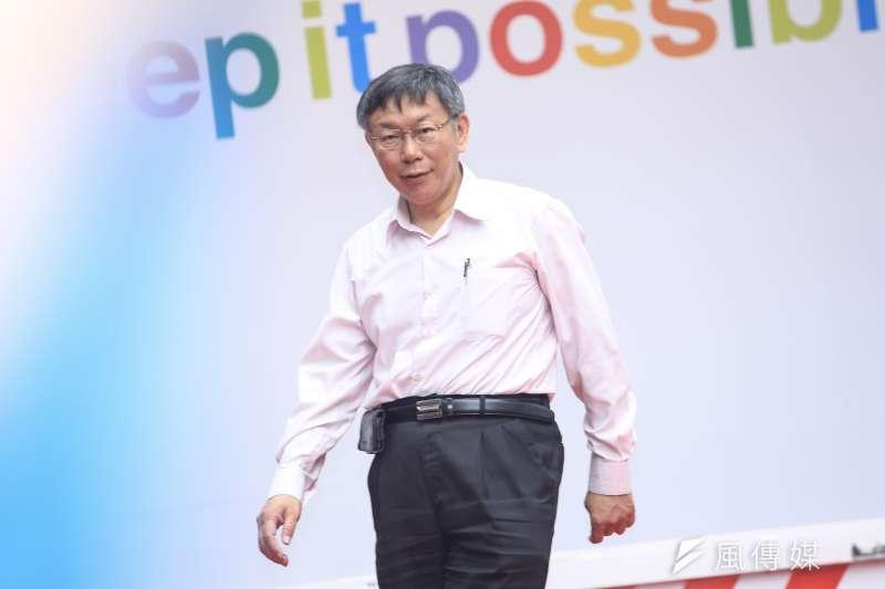 「這4年來,『柯P新政』確實讓台北改變了,半吊子市長柯文哲讓台北變成了一個半吊子的城市。」(資料照,簡必丞攝)