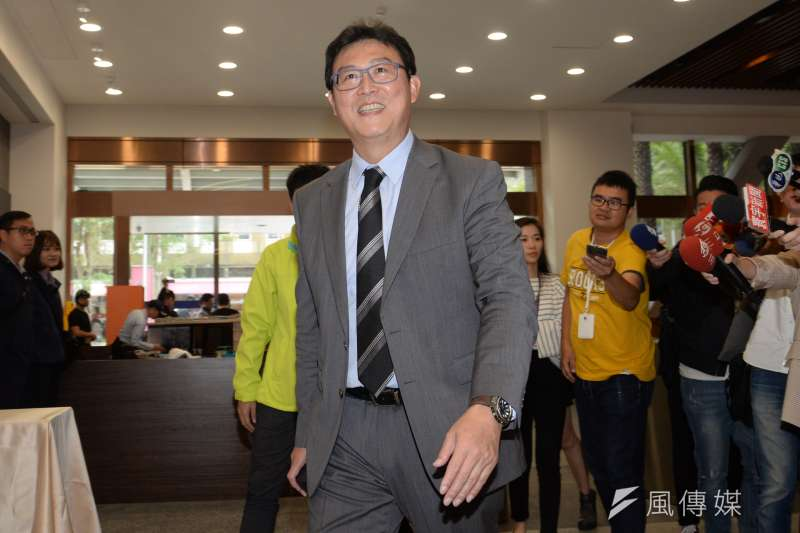 民進黨台北市長候選人姚文智7日強調,若黨高層最後決定選前之夜必須要集結力量在高雄,他會在台北集結所有基層,讓高雄固守住、台北也拿下勝利。(資料照,甘岱民攝)