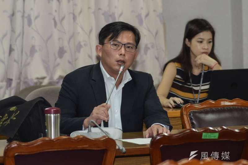 20181105-立法院司法法制委員會,立法委員黃國昌。(甘岱民攝)
