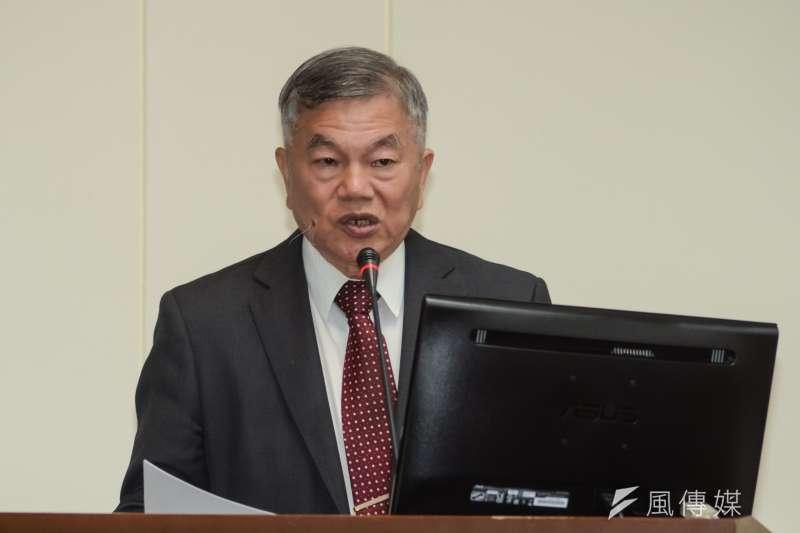 經濟部長沈榮津。(資料照片,甘岱民攝)