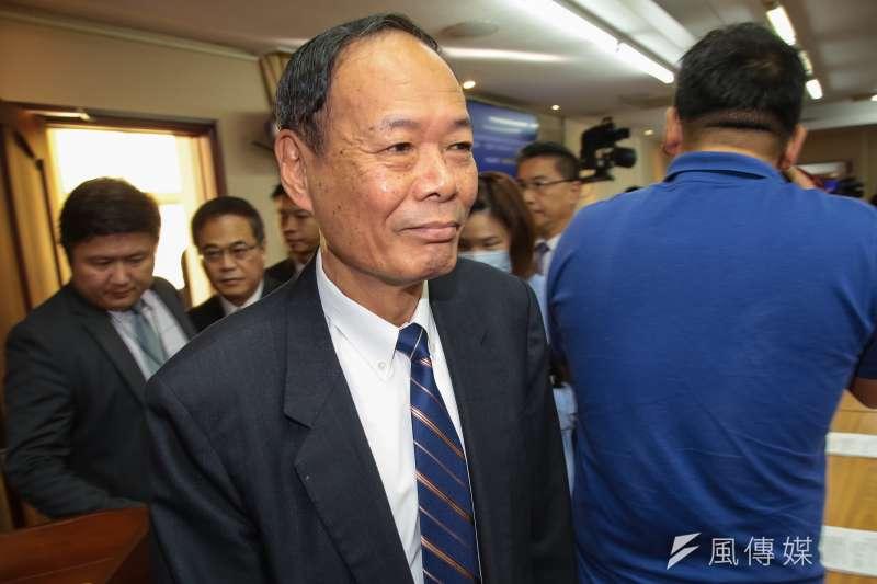 20181107-海巡署長李仲威7日出席內政委員會。(顏麟宇攝)
