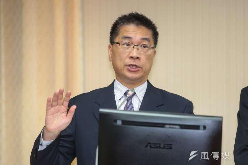 20181107-內政部長徐國勇7日於內政委員會備詢。(顏麟宇攝)