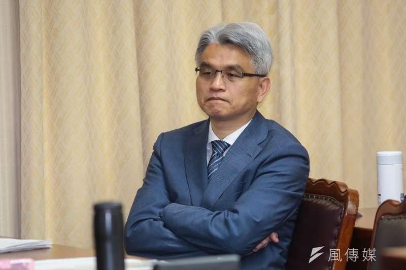 前中選會主委陳英鈐因公投亂象遭監院彈劾。(資料照片,顏麟宇攝)