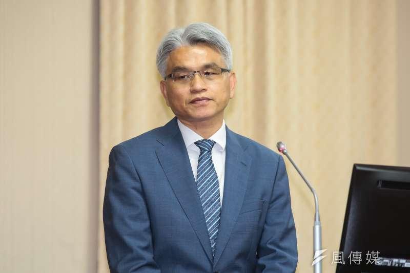 20181107-中選會主委陳英鈐7日於內政委員會備詢。(顏麟宇攝)