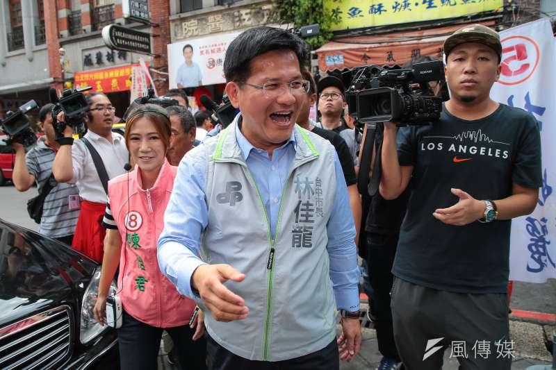 三立最新民調顯示,台中市長林佳龍龍支持度45.1%,勝過盧秀燕11.1%。(資料照,顏麟宇攝)