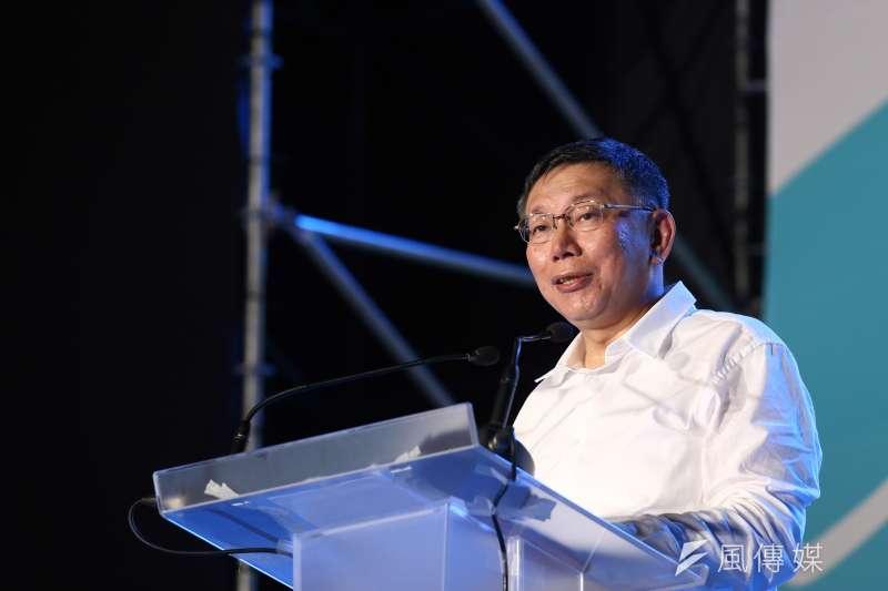 近來掀起的「韓流」以及日前台北市長辯論會引發的蜂蜜檸檬陣容都可能影響柯文哲的選情。(資料照,陳品佑攝)