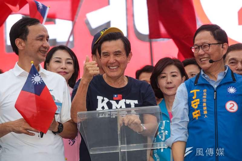 前總統馬英九指出,同黨籍高雄市長候選人韓國瑜現在站出來,是為民眾提供很好的出口,反映民怨已沸騰。(資料照,顏麟宇攝)