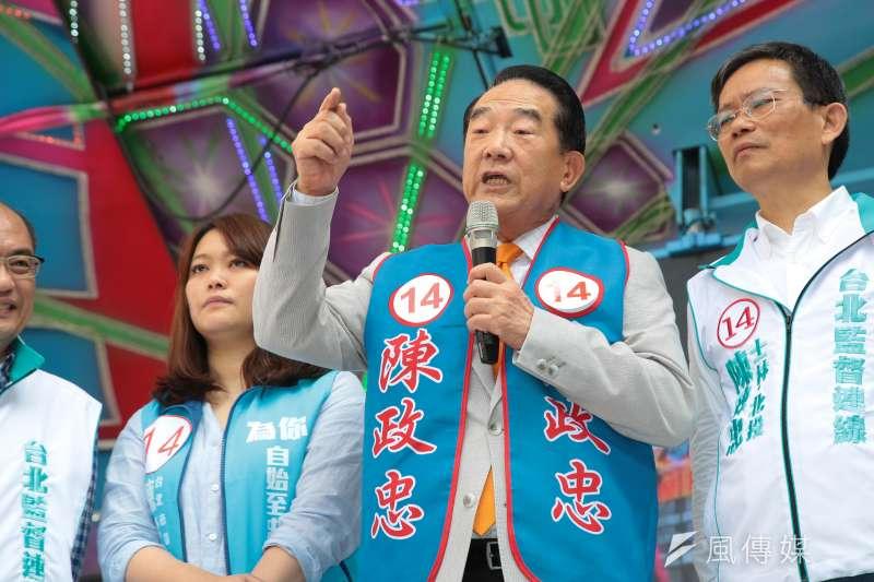 親民黨主席宋楚瑜表示,不管是「什麼流」或「哪個流」,絕對不要成為「歷史的逆流」,反倒要乘風破浪,好好地發展台灣商機。(顏麟宇攝)