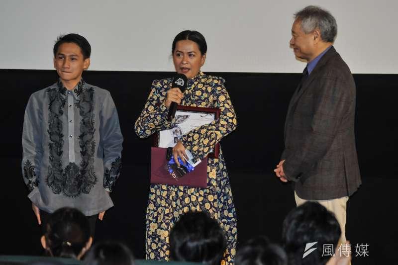 20181114-台北金馬電影學院結業式暨NETPAC頒獎典禮,來自菲律賓的《那些我們想像的愛情》導演杜溫巴塔札。(甘岱民攝)