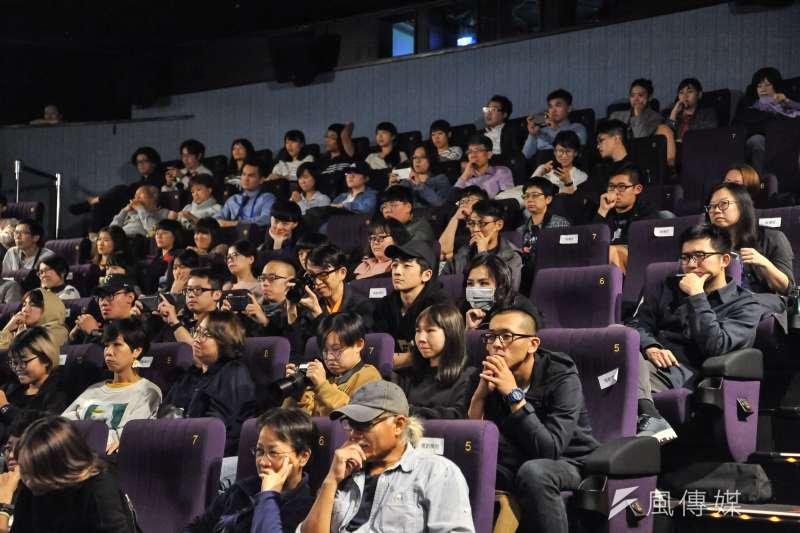 20181114-台北金馬電影學院結業式暨NETPAC頒獎典禮,台下參與的觀眾。(甘岱民攝)