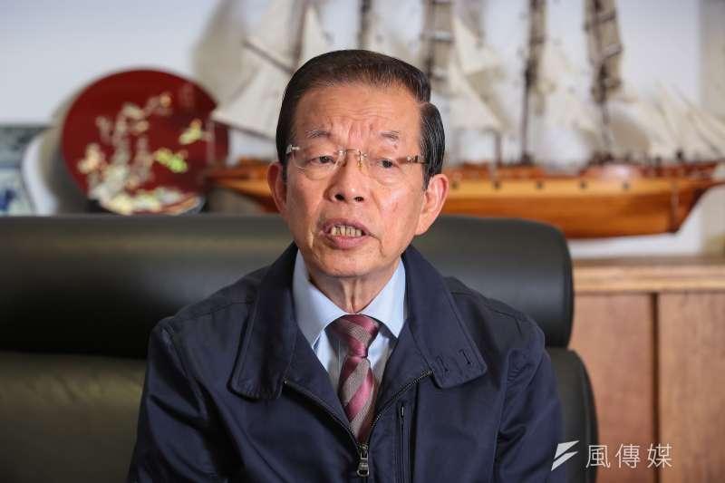 駐日代表謝長廷11日談到日前香港百萬人上街頭反對港府修訂「逃犯條例」一事,他回首32年前台灣發生的612事件,認為情況相當類似。(資料照,顏麟宇攝)