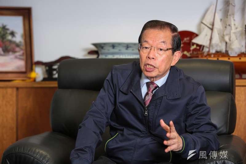 駐日代表謝長廷呼籲韓國瑜辭高雄市長。(資料照片,顏麟宇攝)