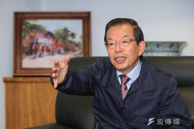 駐日代表謝長廷談中國限制來台自由行一事。(資料照片,顏麟宇攝)