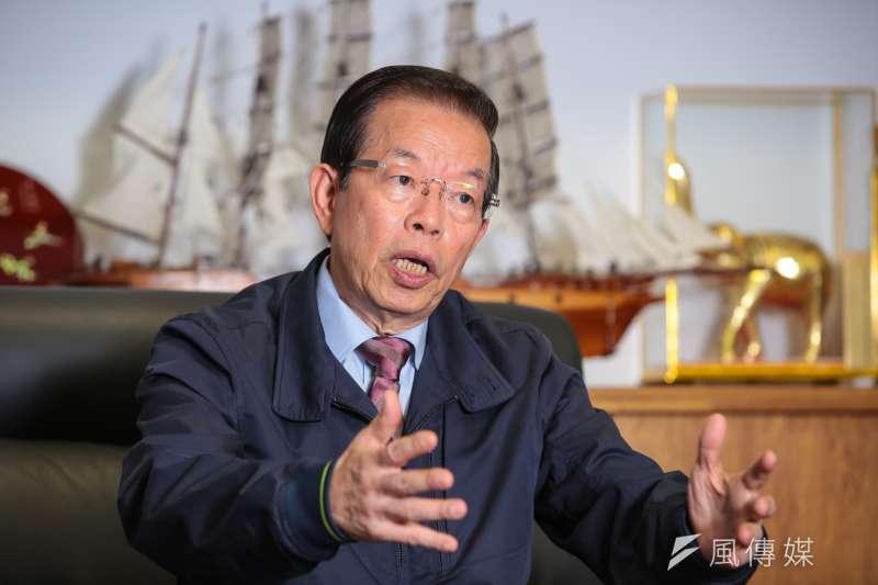 駐日代表謝長廷談白曉燕案,謝指出這次選舉扭曲很多事情。(資料照,顏麟宇攝)