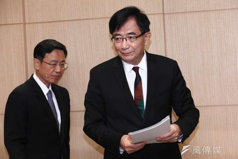 因普悠瑪事件下台的前交通部長吳宏謀,將出任中華郵政董事長。(資料照片,蔡親傑攝)